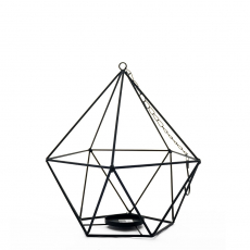 HEXAGONAL CANDLE HOLDER (L)