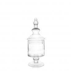 TALL GLASS JAR (S)
